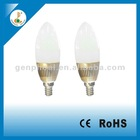 Hot Selling Candle E27 LED Bulb AC220V