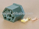 auto plastic terminal connector DJ7071-2.8/6.3-20