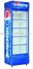 430L tempered glass door display chiller