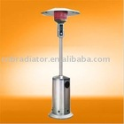 Stainless Steel Outdoor Gas Patio Heaters For LPG Natural Gas