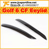 Car Accessoires Carbon Fiber Golf MK6/Golf V/Golf 6 Eyelid/Ebrow for VW
