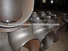 A106 steel ERW pipe fitting