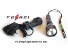 Led flashlight with best lumen efficacy designed