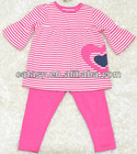 Hot sell 100% cotton embroideried baby clothing