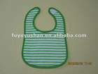 cotton knitted baby bibs with embroidery