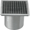 Square shape floor drain
