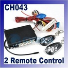 Universal Remote Car Central Locking System