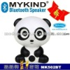 newest mini panda bluetooth speaker with USB(factory price)