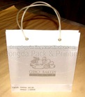 2012 hot sale luxury paper shopping bag