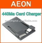 visa card battery for iPhone4,super slim ,Lion Battery inside ,400ma external battery card shape charger