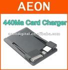 visa card battery for iPhone4,super slim ,Lion Battery inside ,400ma external battery card shape charger