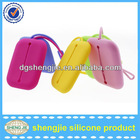 """I"" design silicone coin key case card bag popular sell in UK & USA"