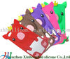 2012 hot new crown pig silicone case for iphone 5G