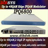 48QAMs Vod+Broadcasting Edge IP QAM modulator&Modular