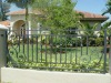 wrought iron fence design for garden,park and house