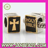 925 Sterling Silver HOLY BIBLE Charm Beads Wholesale