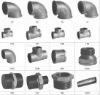 Hot dipped galvanized iron pipe fittings coupling