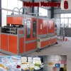 One Time Dishes Vacuum Forming Machine