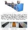 PS Wood plastic profile extrusion line