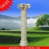 outdoor granite stone pillar