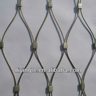 hot sale low price security stainless steel rope mesh factory