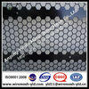 punched metal mesh hexagonal hole with black PVC coated