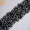 wave shape eyelash polyester flower lace