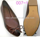 2012 Top Quality Girl Casual Flat Feet PU Shoes