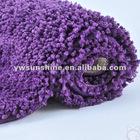 ultra soft long pile microfiber rug