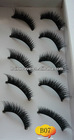 5 Pairs Per Box Synthetic Cheap False Eyelashes