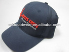 100% cotton 6 panel 3D embroidery baseball cap made in Nanjing
