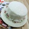 2012 fashion white kids sun hats