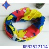 2012 New Fashion Polyester Knit Printed Seamless Tube Bandana Print Fabric
