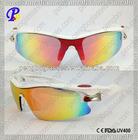 Open frame one piece lens sports eyewear