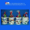 Mug Cup with Sweet Candy