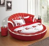 Comfortable round soft bed C103