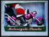 Musical Motorbike Santa Claus