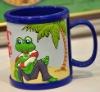 3D soft pvc mug cup