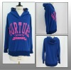 High quality ladies cotton hoodie with print