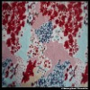 printed knitting fabric with spandex flower print fabric
