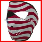 Usa flag Manufacturer snowboard masks neoprene NSM-032