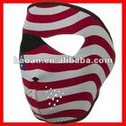 Usa flag Manufacturer snowboard masks neoprene NSM-032