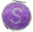bling bling cosmetic mirror/acrylic stone mirror/pocket mirror /make up mirror/rhinestone crystal mirror