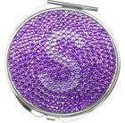 bling bling cosmetic mirror/acrylic stone mirror/pocket mirror /make up mirror/rhinestone crystal mirror