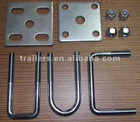 U bolt for trailer axle, Full sizes provide!