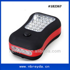 Battery Operating Working Light 24+4 LED