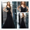 Free Shipping 2012 New Chiffon Off-shoulder Beaded Floor Length Mother of the Bride Dresses JYMD072