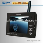 Upgraded version of wireless 3.5 inch suppoted load ( max)DC12V 800mA LCD monitor