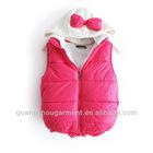 2012 lady fashion garment korean fashion cotton winter vest