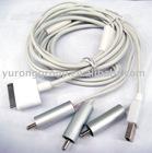 AV Cable for 4S cell phone / 4 pole av cable
